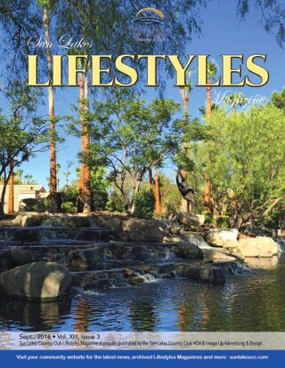 Sun Lakes Lifestyles, September 2016