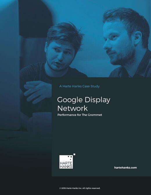 Google display network.  Performance for The Grommet