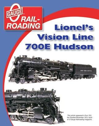 The Lionel Vision Line 700E Hudson