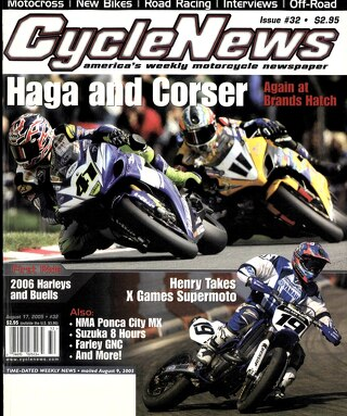 Cycle News 2005 08 17