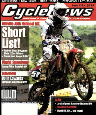 Cycle News 2005 08 24