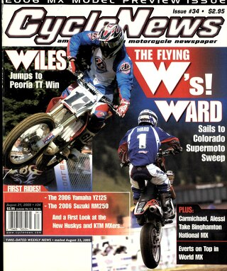 Cycle News 2005 08 31