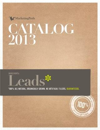 2013 Catalog