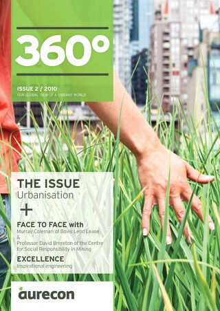 Aurecon 360 Issue 2 Urbanisation