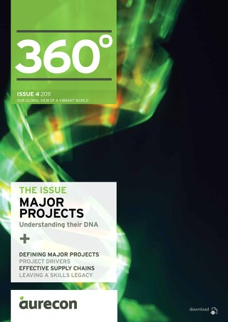 Aurecon 360 Issue 4 Major projects 2011