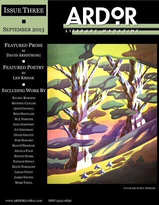 ARDOR Literary Magazine - Issue Three, September 2013