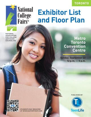 NACAC 2013 Toronto Exhibitor List & Floor Plan