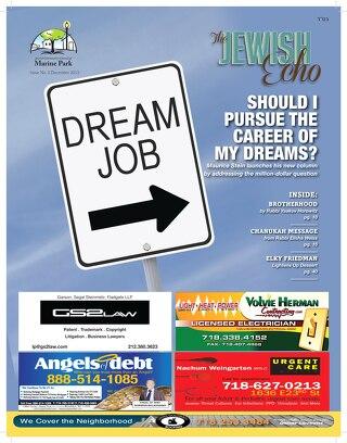 The Jewish Echo Magazine /December Edition