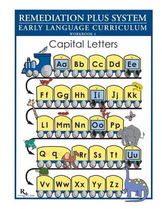 Teaching Capital Letters Workbook