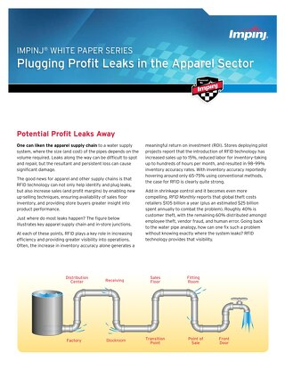 Plugging Profit Leaks in the Apparel Sector