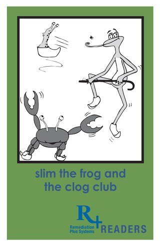 CB Reader 2 Slim The Frog and the Clog Club