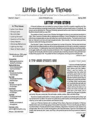 2005 Spring Newsletter