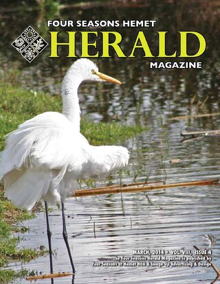 Four Seasons Hemet Herald March 2014
