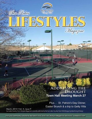 Sun Lakes Lifestyles March 2014