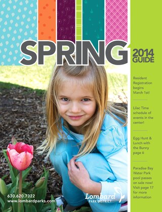 Lombard Park District Spring 2014