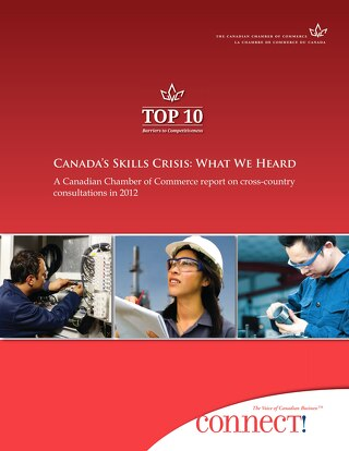 Canada's Skills Crisis - Canadian Chamber of Commerce Report - September 2012