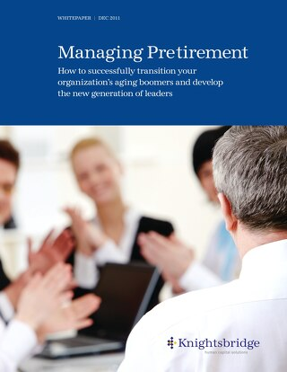 Managing Pretirement - December 2011
