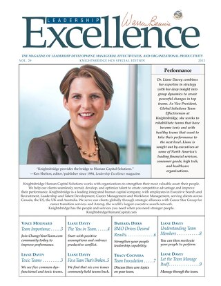 Leadership Excellence Vol. 29