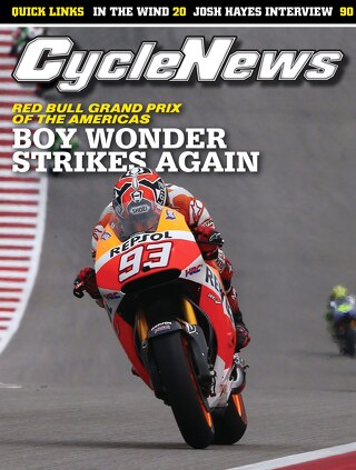 Cycle News 2014 Issue 15 April 15 2014