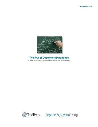 The ROI of Customer Experience
