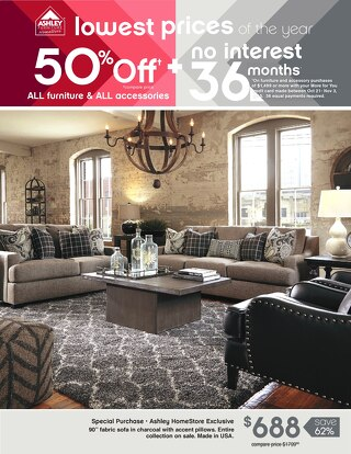 Ashley Furniture HomeStore- Ultimate Home Sale! July 2015