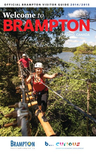 Official Brampton Visitor Guide 2014