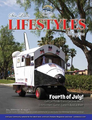 Sun Lakes Lifestyles July 2014