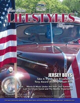 Sun Lakes Lifestyles Magazine August 2014