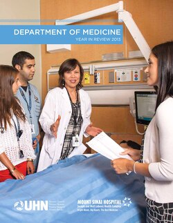 Link to Department of Medicine Year in Review 2013