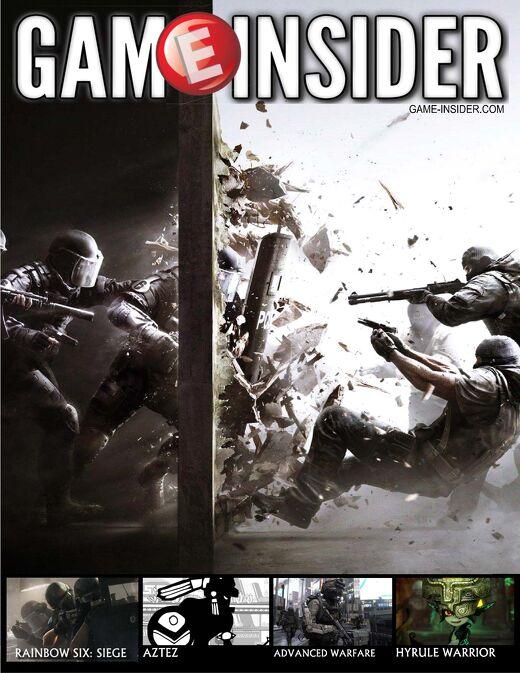 Rainbow Six: Siege Cover Story