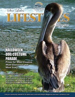 Sun Lakes Lifestyles, October 2014