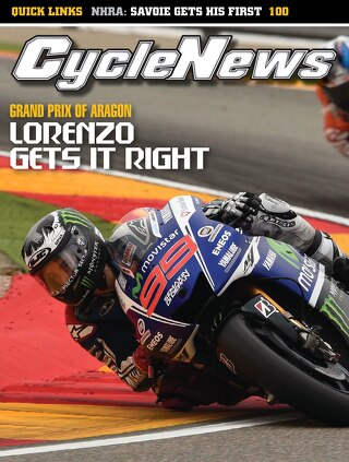 Cycle News 2014 Issue 39 September 30